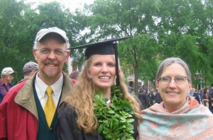 Susan with Dartmouth College Graduate